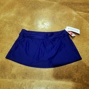 New with Tags Athleta Swim Skirt Blue Medium